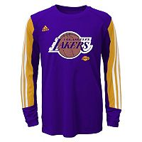 Boys 8-20 adidas Los Angeles Lakers Prestige climalite Tee