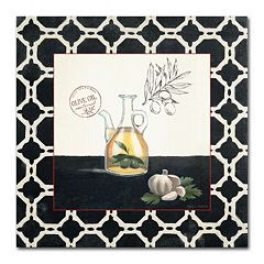 Trademark Fine Art 'Olive Oil and Garlic' Canvas Wall Art by Marco Fabiano
