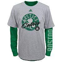 Boys 8-20 adidas Boston Celtics Cager Tee Set