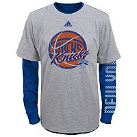 Boys 8-20 adidas New York Knicks Cager Tee Set