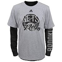 Boys 8-20 adidas Brooklyn Nets Cager Tee Set