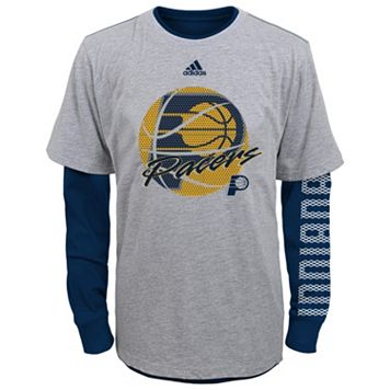 Boys 8-20 adidas Indiana Pacers Cager Tee Set