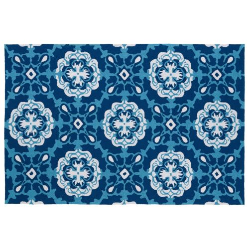 Kaleen Matira Medallion Indoor Outdoor Rug