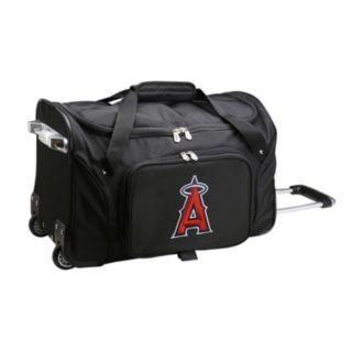 Denco Los Angeles Angels of Anaheim 22-Inch Wheeled Duffel Bag
