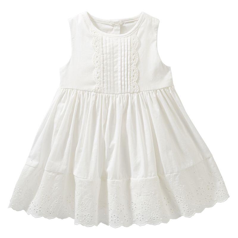 OshKosh B'gosh® Floral Eyelet Woven Dress - Baby Girl