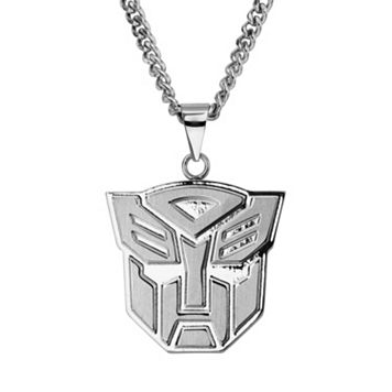 Transformers Stainless Steel Autobot Pendant Necklace - Men