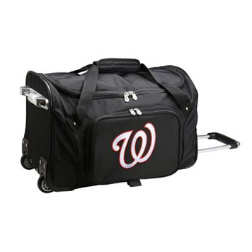 Denco Washington Nationals 22-Inch Wheeled Duffel Bag