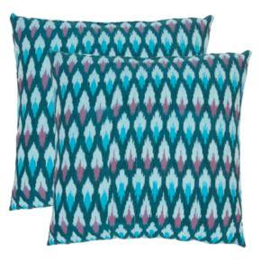 Safavieh 2-piece Luca Throw Pillow Set