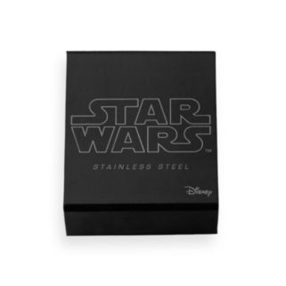 Star Wars Imperial Symbol Black Ion-Plated Stainless Steel Money Clip