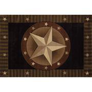 United Weavers Designer Contours Austin Star Rug