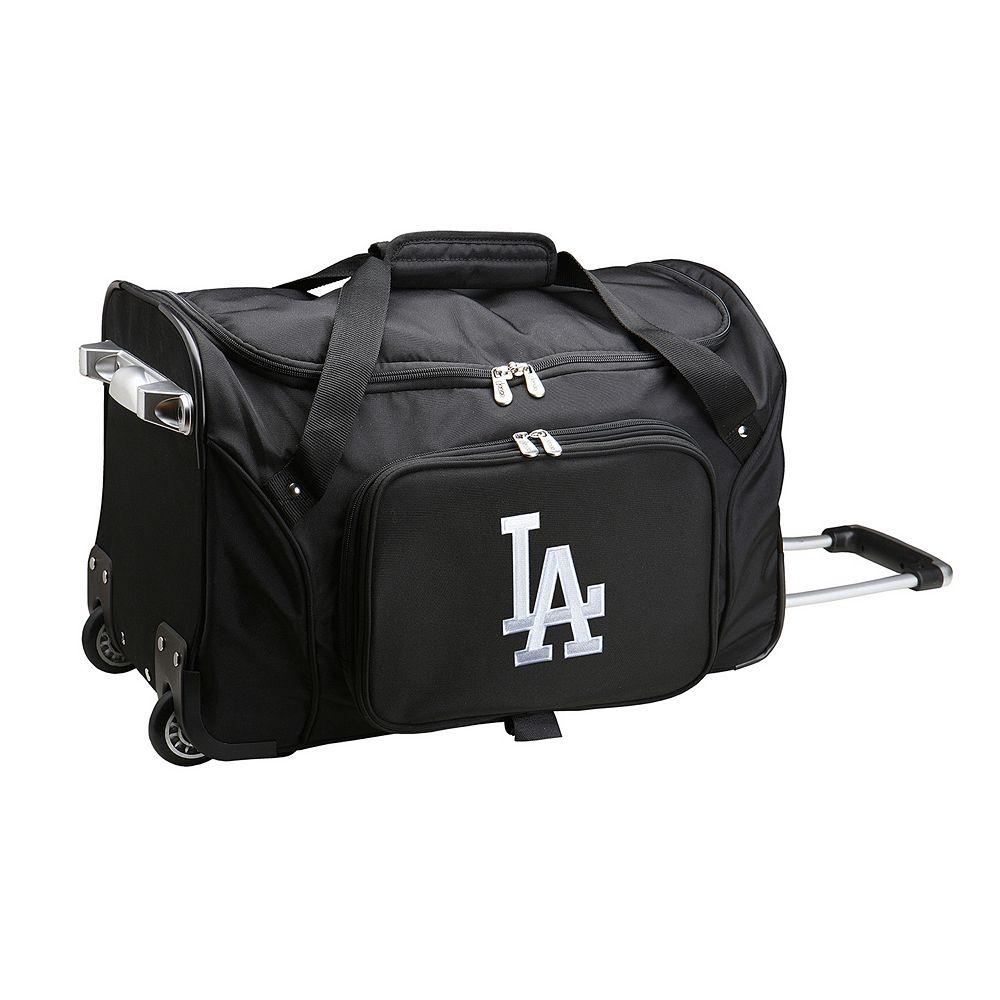 Denco Los Angeles Dodgers 22-Inch Wheeled Duffel Bag