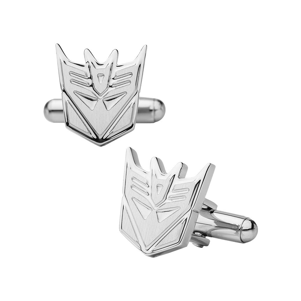 Transformers Decepticon Stainless Steel Cuff Links