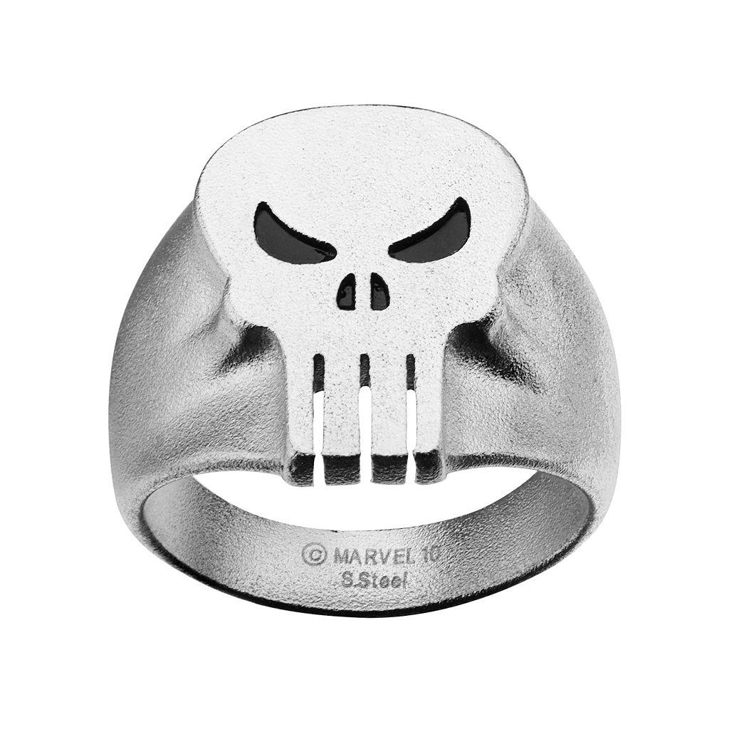 Punisher Stainless Steel Ring - Men