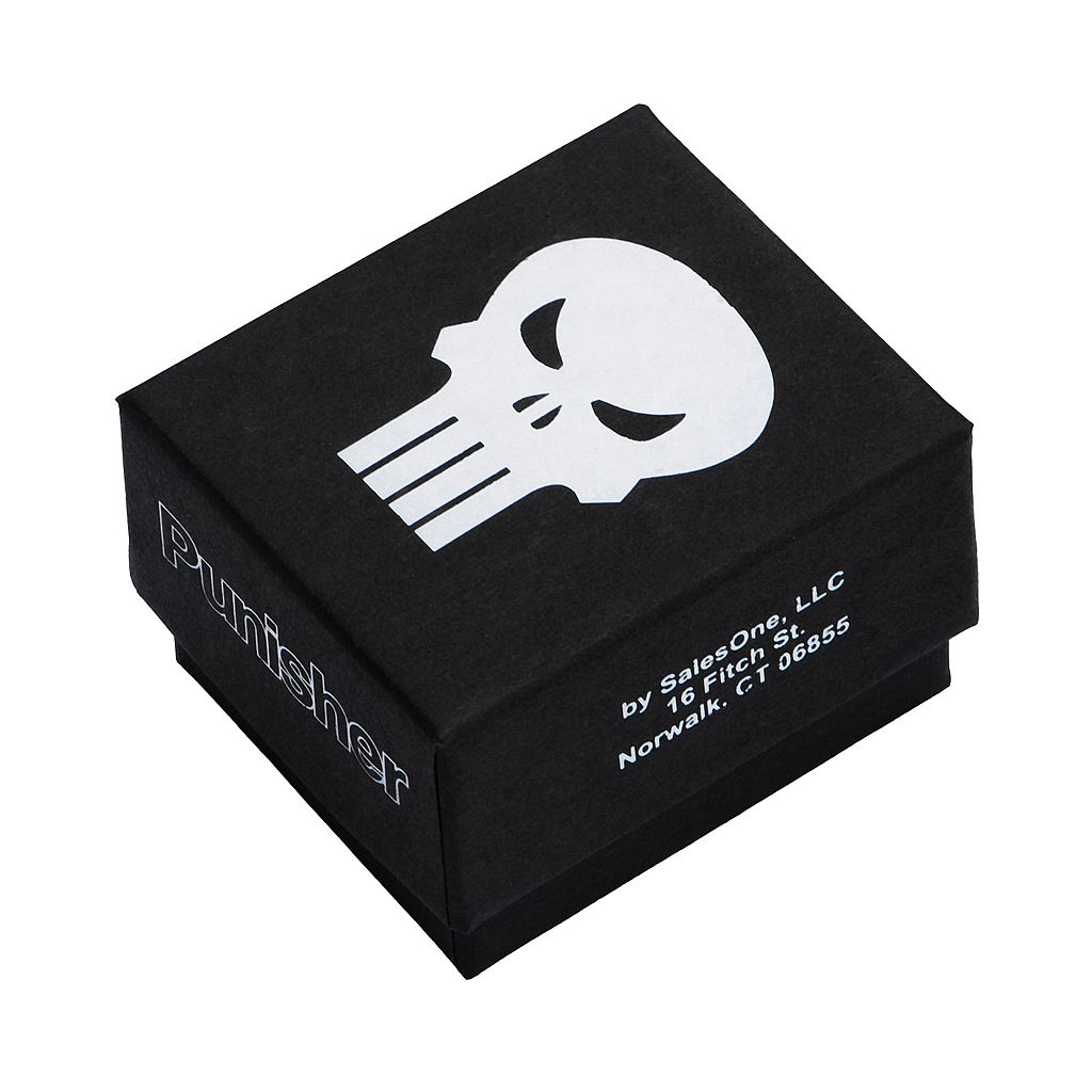 Punisher Stainless Steel Ring - Men