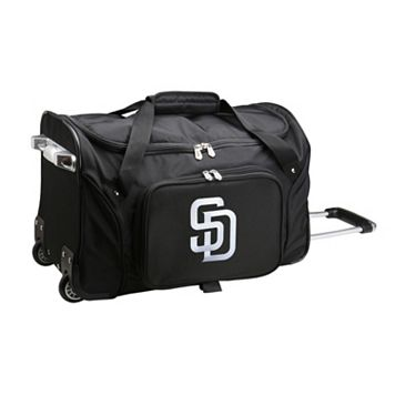 Denco San Diego Padres 22-Inch Wheeled Duffel Bag