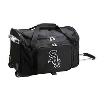 Denco Chicago White Sox 22-Inch Wheeled Duffel Bag