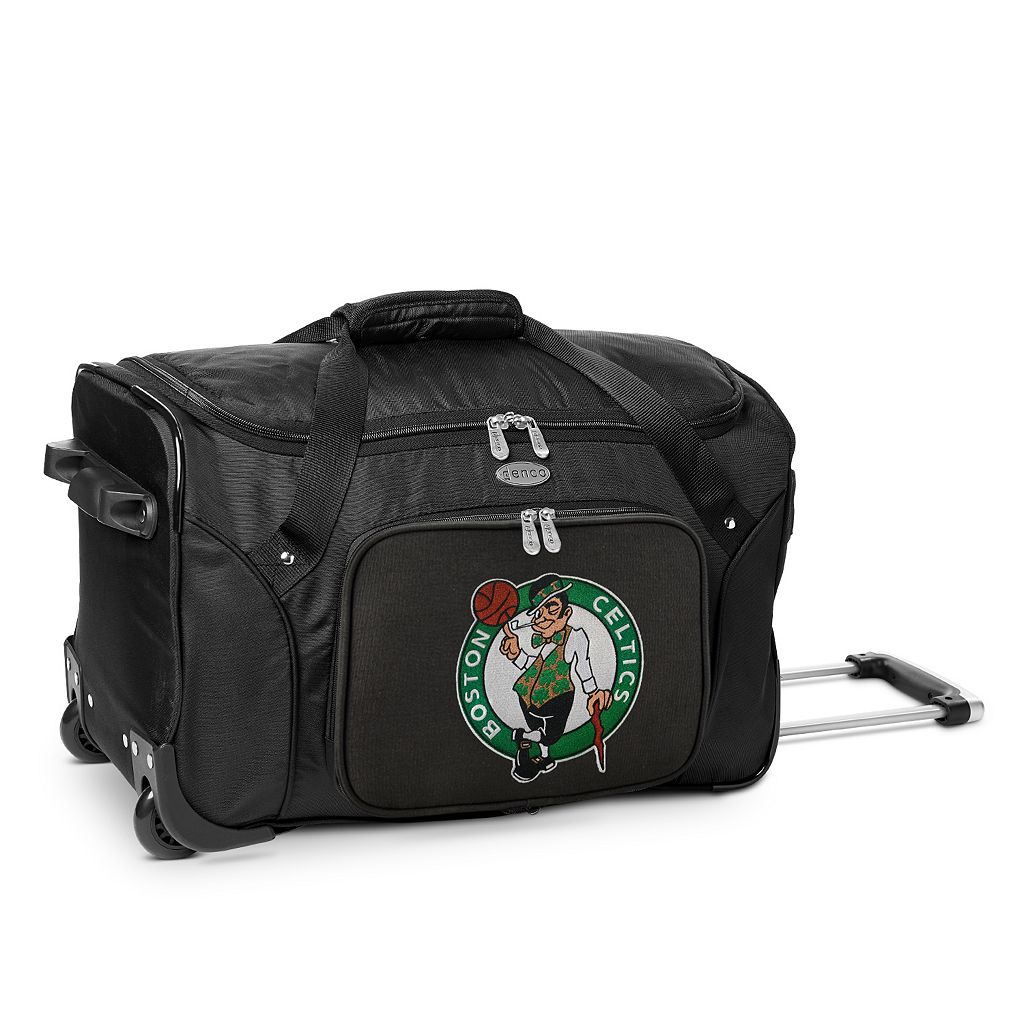 Denco Boston Celtics 22-Inch Wheeled Duffel Bag