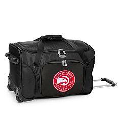Denco Atlanta Hawks 22-Inch Wheeled Duffel Bag