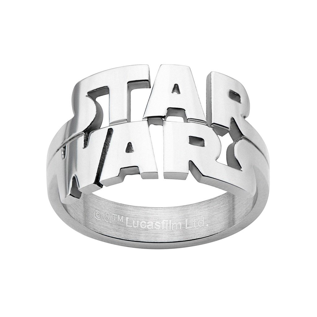 Star Wars Stainless Steel Ring - Men