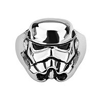 Star Wars Stormtrooper Stainless Steel Ring - Men