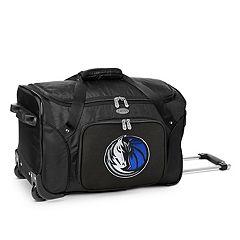 Denco Dallas Mavericks 22-Inch Wheeled Duffel Bag