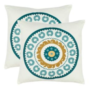 Safavieh 2-piece Sunder Throw Pillow Set