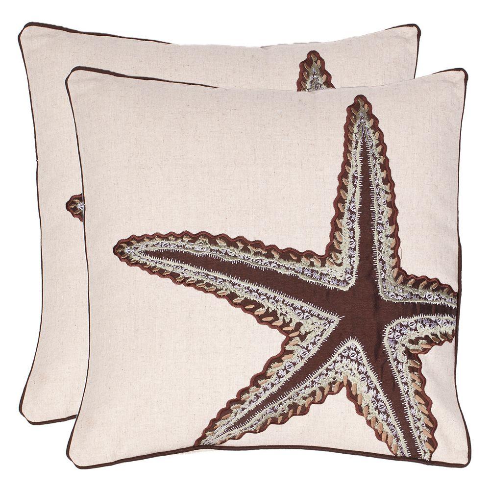 Safavieh 2-piece Lucky Star Throw Pillow Set