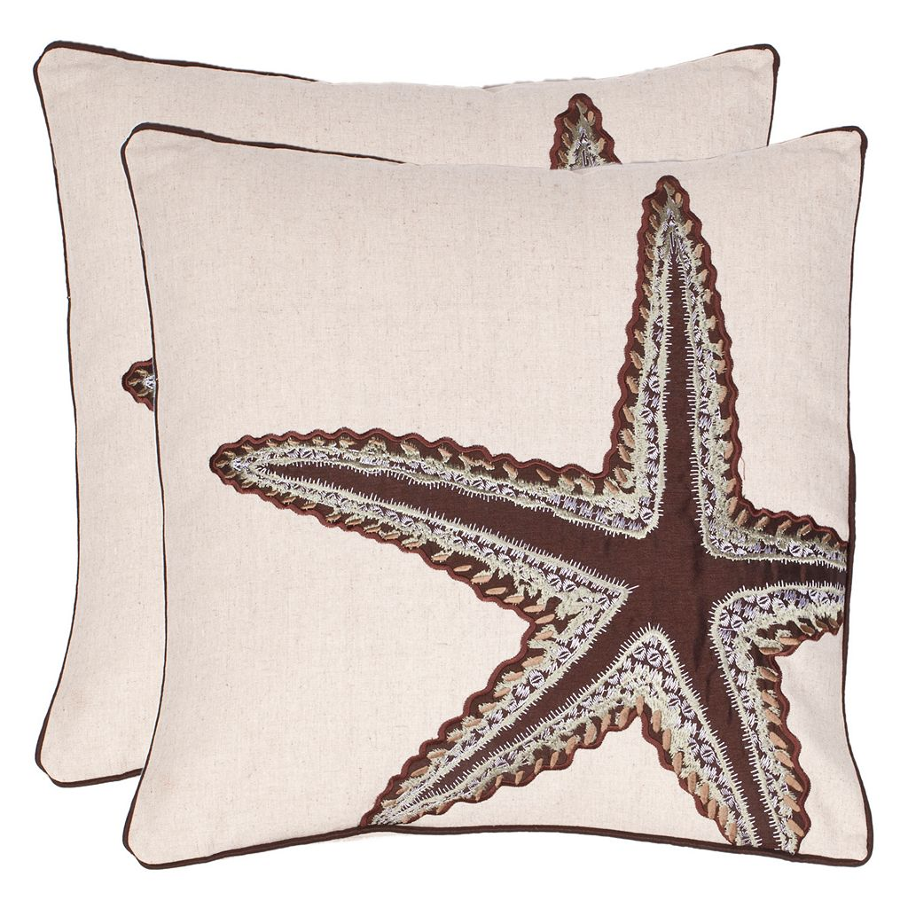 Safavieh 2-piece Lucky Star Throw Pillow Set