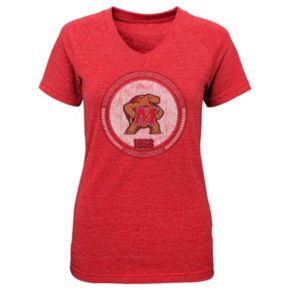 Girls 4-6x Maryland Terrapins Medallion Tee