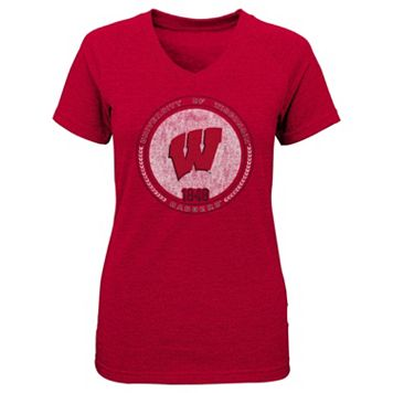 Girls 4-6x Wisconsin Badgers Medallion Tee