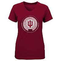 Girls 4-6x Indiana Hoosiers Medallion Tee