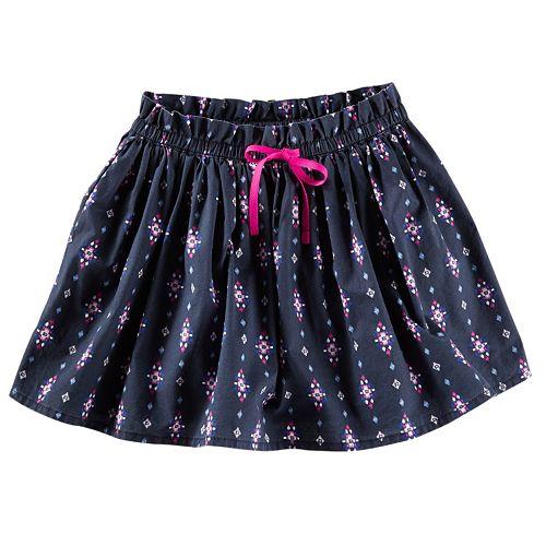 Toddler Girl OshKosh B'gosh® Geo Poplin Skirt