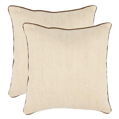 Safavieh 2-piece Gunnar Throw Pillow