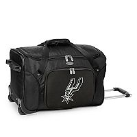 Denco San Antonio Spurs 22-Inch Wheeled Duffel Bag