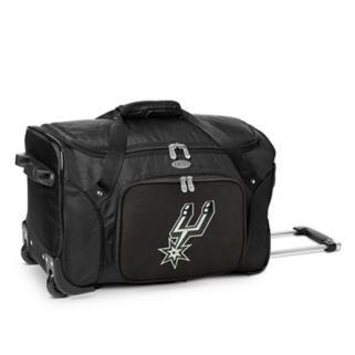 Denco San Antonio Spurs 22-Inch Wheeled Duffel Bag