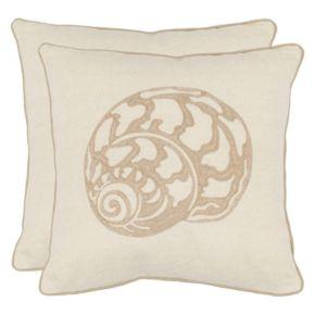 Safavieh 2-pieve Palmer Throw Pillow Set