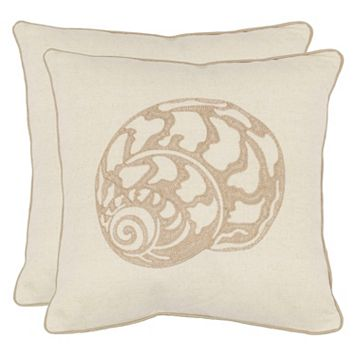 Safavieh 2-pieve Palmer Throw Pillow Set