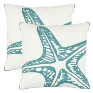 Safavieh 2-piece Whitney Throw Pillow Set