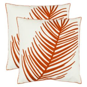 Safavieh 2-piece Remy Throw Pillow Set