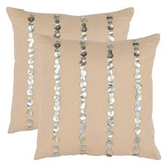 Safavieh 2-piece Jenna Throw Pillow Set