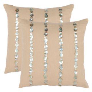 Safavieh 2-piece Jenna Throw Pillow Set