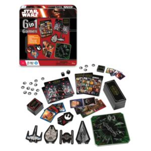 Star Wars: Episode VII The Force Awakens 6-in-1 Game Tin