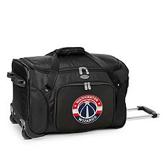 Denco Washington Wizards 22-Inch Wheeled Duffel Bag