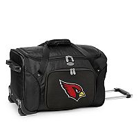 Denco Arizona Cardinals 22-Inch Wheeled Duffel Bag