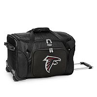 Denco Atlanta Falcons 22-Inch Wheeled Duffel Bag
