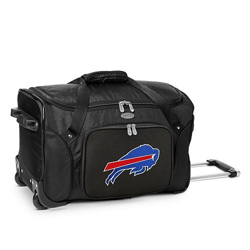 Denco Buffalo Bills 22-Inch Wheeled Duffel Bag