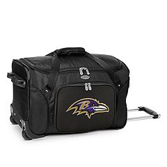 Denco Baltimore Ravens 22-Inch Wheeled Duffel Bag