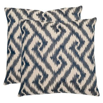 Safavieh 2-piece Teddy Throw Pillow Set