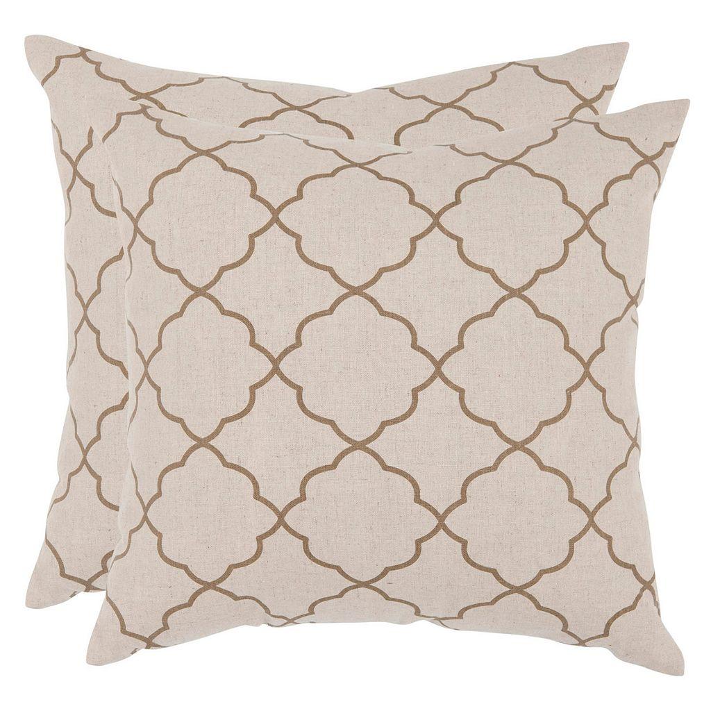 Safavieh 2-piece Sophie Throw Pillow Set