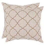 Safavieh 2 pc Sophie Throw Pillow Set